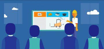 FPT presenta su video sobre autoelevadores